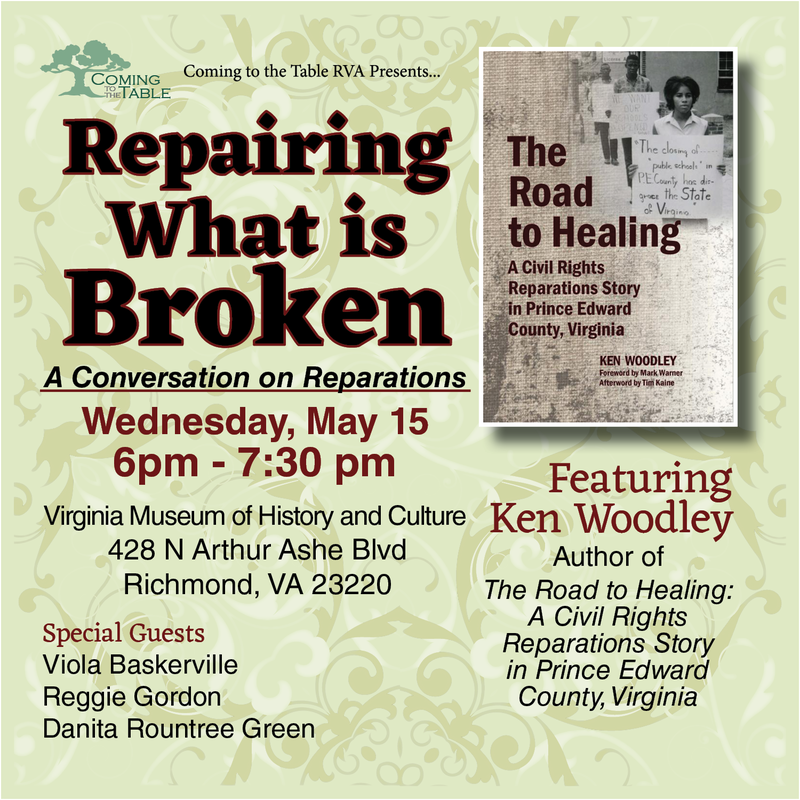 Repairing What is Broken - a Conversation on Reparations