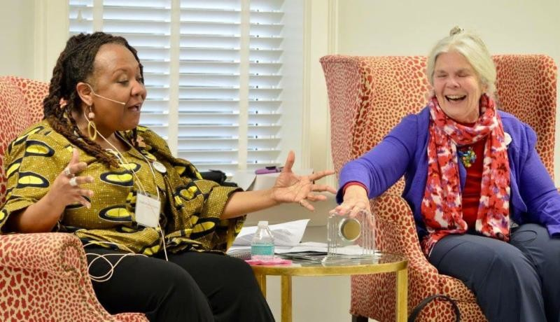 Martha Rollins and Danita Green share the story of their friendship